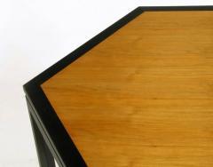Edward Wormley Rare Edward Wormley Hexagonal Mahogany and Tawi Dining Table - 231728