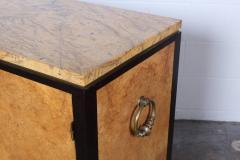 Edward Wormley Rare Olive Burl Cabinet by Edward Wormley for Dunbar - 1014439