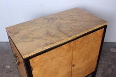 Edward Wormley Rare Olive Burl Cabinet by Edward Wormley for Dunbar - 1014441