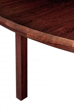 Edward Wormley Round Rosewood Dining Table by Edward Wormley - 155523