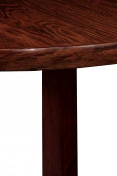 Edward Wormley Round Rosewood Dining Table by Edward Wormley - 155524