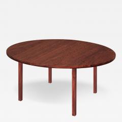 Edward Wormley Round Rosewood Dining Table by Edward Wormley - 155803