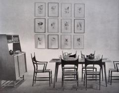 Edward Wormley Set of Eight Edward Wormley 5580 Dining Chairs for Dunbar 1950s - 902737