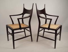 Edward Wormley Set of Eight Edward Wormley 5580 Dining Chairs for Dunbar 1950s - 902742