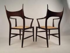 Edward Wormley Set of Eight Edward Wormley 5580 Dining Chairs for Dunbar 1950s - 902747