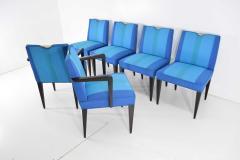 Edward Wormley Set of Six Edward Wormley for Dunbar Dining Chairs - 1145995