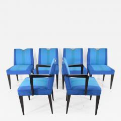 Edward Wormley Set of Six Edward Wormley for Dunbar Dining Chairs - 1147512