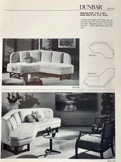 Edward Wormley Sofa Model 6329A Designed Edward Wormley for Dunbar - 1090485