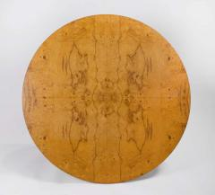 Edward Wormley Solid Walnut Olive Burl Wood Game Table by Edward Wormley for Dunbar - 1484241