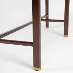 Edward Wormley Trapezoidal Walnut Coffee Table by Edward Wormley for Dunbar Circa 1950s - 1534601