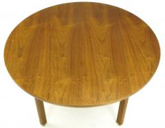 Edward Wormley Uncommon Edward Wormley Five Leg Walnut Coffee Table for Dunbar - 665652