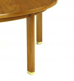 Edward Wormley Uncommon Edward Wormley Five Leg Walnut Coffee Table for Dunbar - 665653