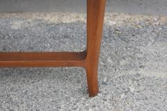 Edward Wormley Walnut Coffee Table with Natzler Tiles Model 5632N by Edward Wormley for Dunbar - 912074