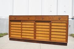 Edward Wormley Walnut Japanese Fir Sideboard by Edward Wormley for Dunbar - 163308