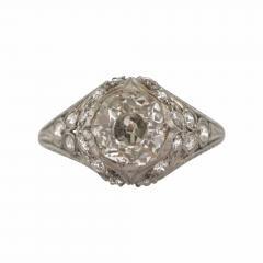 Edwardian Diamond Filigree Ring - 318027