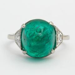 Edwardian Emerald and Diamond Ring - 375996