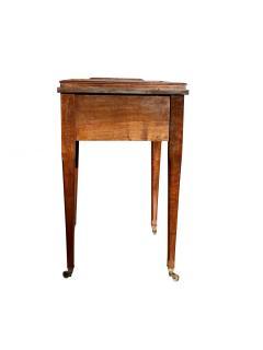 Edwardian Mahogany Bar Table By Asprey - 1736299