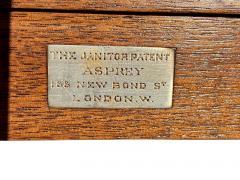 Edwardian Mahogany Bar Table By Asprey - 1736301