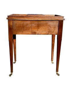 Edwardian Mahogany Bar Table By Asprey - 1736302
