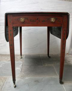 Edwards Roberts 19th Century Mahogany with Inlay Pembroke Table - 736708