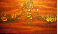 Edwards Roberts 19th Century Mahogany with Inlay Pembroke Table - 736711