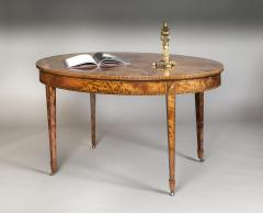 Edwards Roberts Antique Sheraton Revival Centre Center Table of Generous Proportions - 1187442