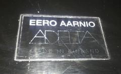 Eero Aarnio Ball Chair by Adelta Eero Aarino Black and Blue Finland  - 1488168