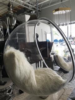 Eero Aarnio Pair Of Authentic Eero Aarnio Bubble Chairs - 933584