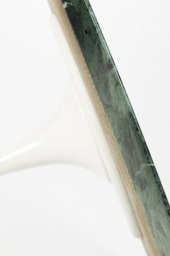 Eero Saarinen Eero Saarinen Dining table Knoll International marble Verdi Alpi 70s - 2016390