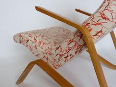 Eero Saarinen Eero Saarinen Grasshopper Chair With Vintage Knoll Fabric - 394106
