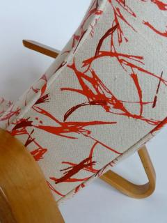 Eero Saarinen Eero Saarinen Grasshopper Chair With Vintage Knoll Fabric - 394108