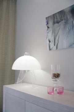 Eero Saarinen Eero Saarinen Moonlight Table Lamp for Innolux Oy Finland - 1626158