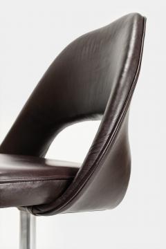 Eero Saarinen Eero Saarinen Office chair Leather 60s - 2067484