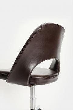 Eero Saarinen Eero Saarinen Office chair Leather 60s - 2067485