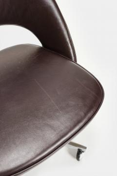 Eero Saarinen Eero Saarinen Office chair Leather 60s - 2067486
