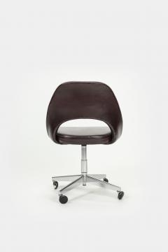 Eero Saarinen Eero Saarinen Office chair Leather 60s - 2067515