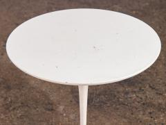 Eero Saarinen Eero Saarinen White Tulip Side Table for Knoll - 1037117
