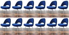 Eero Saarinen Knoll Eero Saarinen Armless Executive Chair 8 Available in Mohair - 1240008