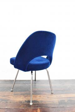 Eero Saarinen Knoll Eero Saarinen Armless Executive Chair 8 Available in Mohair - 1240011