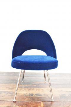 Eero Saarinen Knoll Eero Saarinen Armless Executive Chair 8 Available in Mohair - 1240014