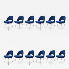 Eero Saarinen Knoll Eero Saarinen Armless Executive Chair 8 Available in Mohair - 1241879