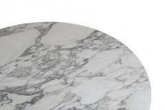 Eero Saarinen Knoll Saarinen 35 Round Arabescato Marble Dining Table - 1264766
