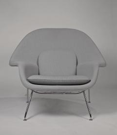 Eero Saarinen Pair of Knoll Womb Chairs Designed by Eero Saarinen - 997981