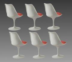 Eero Saarinen Round table and six chairs Eero Saarinen for Knoll circa 1960 - 1263674