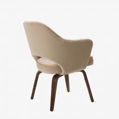 Charmant Eero Saarinen Saarinen Executive Arm Chair With Walnut Legs In Mohair And  Leather Piping   443606