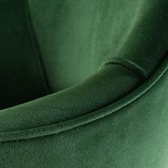 Eero Saarinen Saarinen Executive Arm Chairs in Emerald Velvet 24k Gold Edition - 524880