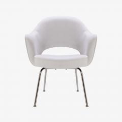 Eero Saarinen Saarinen Executive Armchairs in Dove Ultrasuede Set of Six - 306621