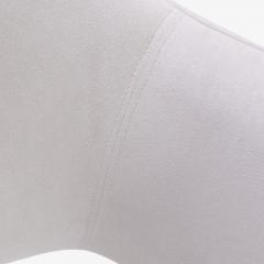 Eero Saarinen Saarinen Executive Armchairs in Dove Ultrasuede Set of Six - 306627