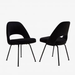 Eero Saarinen Saarinen Executive Armless Chairs Black Edition Set of 6 - 443652