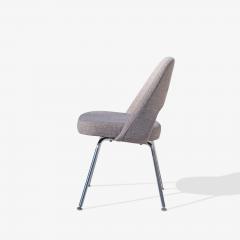 Eero Saarinen Saarinen Executive Armless Chairs in Gray by Eero Saarinen for Knoll Set of 6 - 1705153